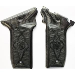 S&W 22 Victory Silverblack & Stippled Image