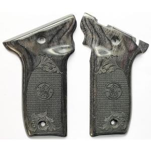 S&W 22 Victory Silverblack & Scroll Image